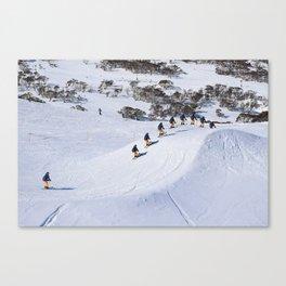 Ski Cross Canvas Print