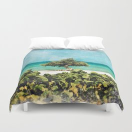 Divi Divi Tree of Life Duvet Cover