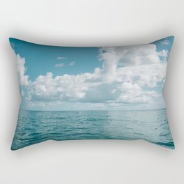 Hawaiian Ocean View Rectangular Pillow