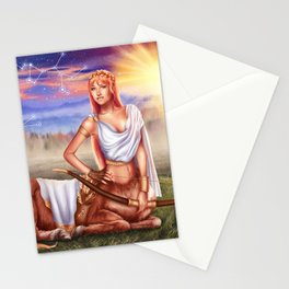 Sagittarius OC - 12 Zodiac Ladies Stationery Cards