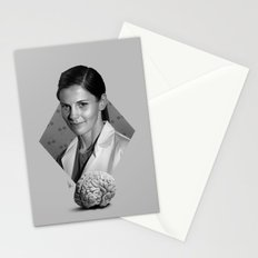 The girl who counted Stationery Cards