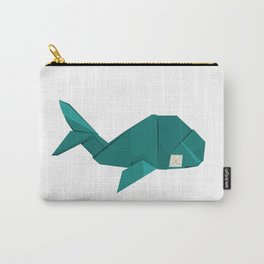 Origami Whale Carry-All Pouch