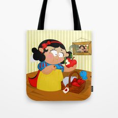 Snow White (apple) Tote Bag