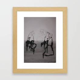 PHARISEES 2 Framed Art Print