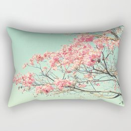 Spring Kissing the Sky Rectangular Pillow