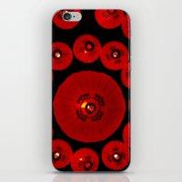 lanterns iPhone & iPod Skins featuring Lanterns by StanleyStudio