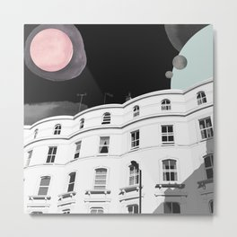 Notting Hill, London UK Metal Print