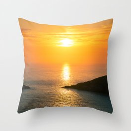 Pontal do Atalaia Sunset Throw Pillow
