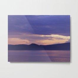 Lake 3 Metal Print