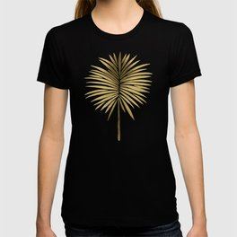 Tropical Fan Palm – Gold Palette T-shirt