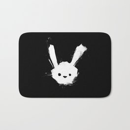 minima - splatter rabbit  Bath Mat