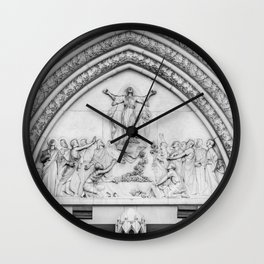Doorway Arch - Cathedral Basilica of the Assumption - Covington - Kentucky Wall Clock