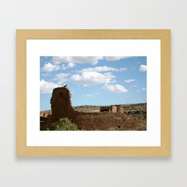 Chaco Canyon Framed Art Print