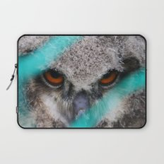 eyes of fire, young bird of prey portrait Laptop Sleeve