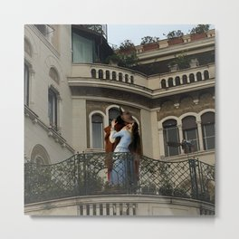 the kiss hayez Metal Print