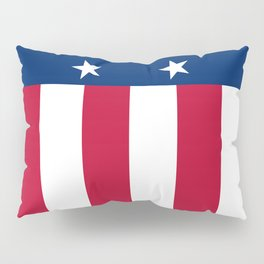 State flag of Texas, banner version Pillow Sham