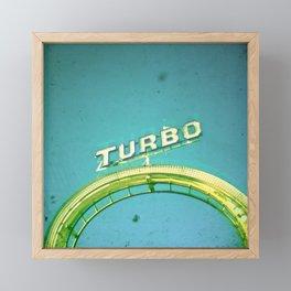 Turbo Framed Mini Art Print