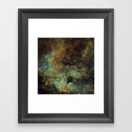Gamma Cygni Nebula Framed Art Print