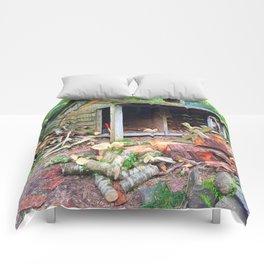 Rainbow Logs Comforters