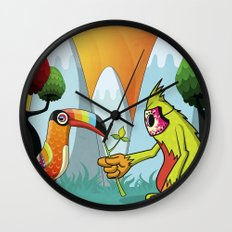 Magic Breed Wall Clock