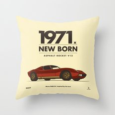 1971 Throw Pillow