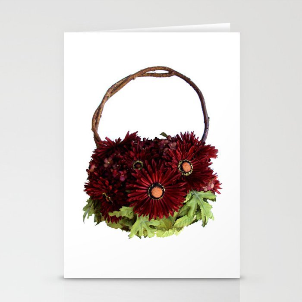 Autumn Bouquet Handbag Stationery Cards