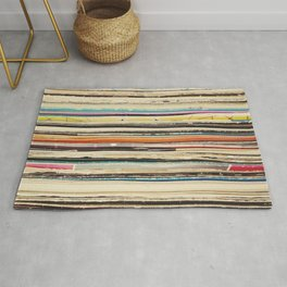 Record Collection Rug
