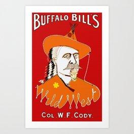 Buffalo Bill Cody's Wild West Show Art Print