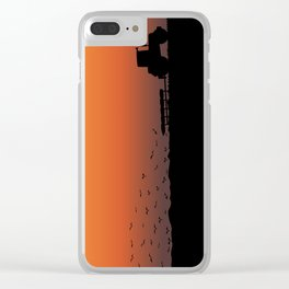Ploughing the Field Clear iPhone Case
