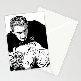 The Terrifying Lover (Mono) Stationery Cards