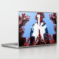 lungs Laptop & iPad Skins featuring Lungs by Keka Delso