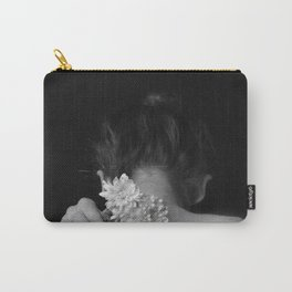 Flower and sea Carry-All Pouch