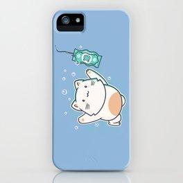 Nevermind Cat iPhone Case
