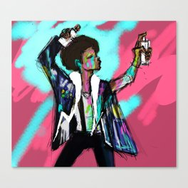The Get Down Canvas Print