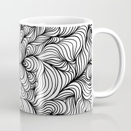 LineArt (Black & White) Coffee Mug