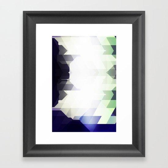 Boomerangs Framed Art Print