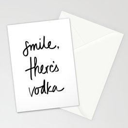 Smile - Vodka Stationery Cards