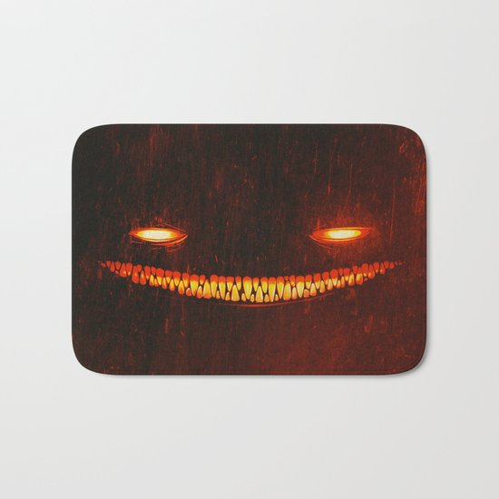 Smile (Red) Bath Mat