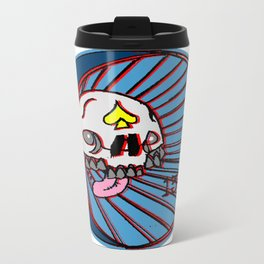SKULLO Metal Travel Mug