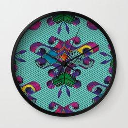 3 - Teal Wall Clock