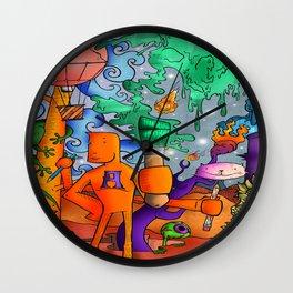 My name is ART Wall Clock