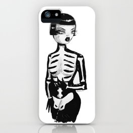 Pearl, The Girl iPhone Case