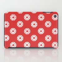 poker iPad Cases featuring Poker Dots by Leo Canham