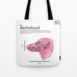 The Dachshund Tote Bag