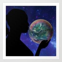 bubble Art Prints featuring Bubble by Cs025