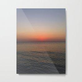 Sunset of memories Metal Print