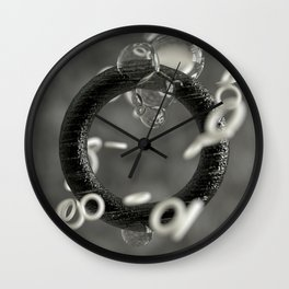 The Ring Around Wall Clock
