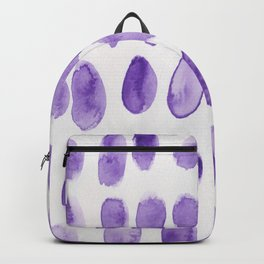 24  | 190321 Watercolour Abstract Painting Backpack