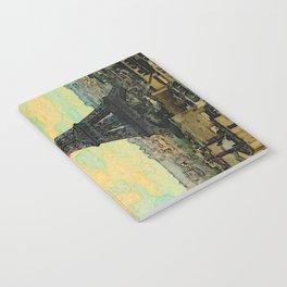 Watercolor Dream of Paris Notebook