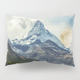 Wander trip sets the Moon Pillow Sham